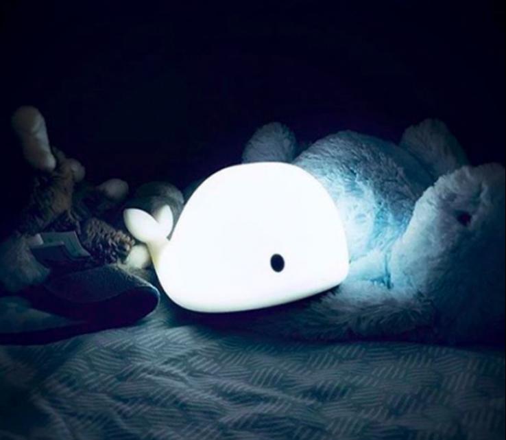 Hvalen Christian er den perfekte natlampe til børn